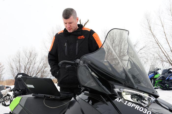 Ryan Hayes, Arctic Cat 2-Stroke Engine Powertrain Manager.