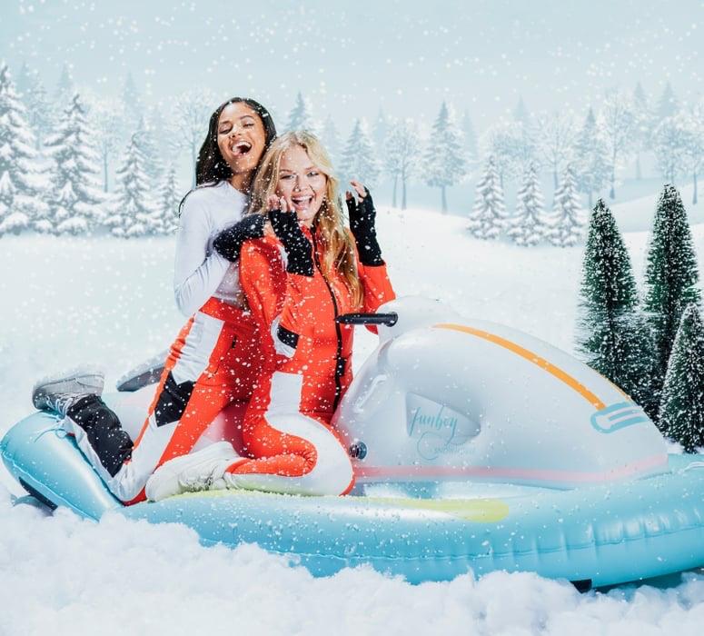 Arctic Cat Santa Clause Christmas snowmobile