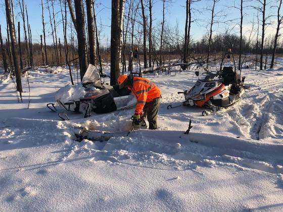 Clearing trail debris is part of the work clubs need help with