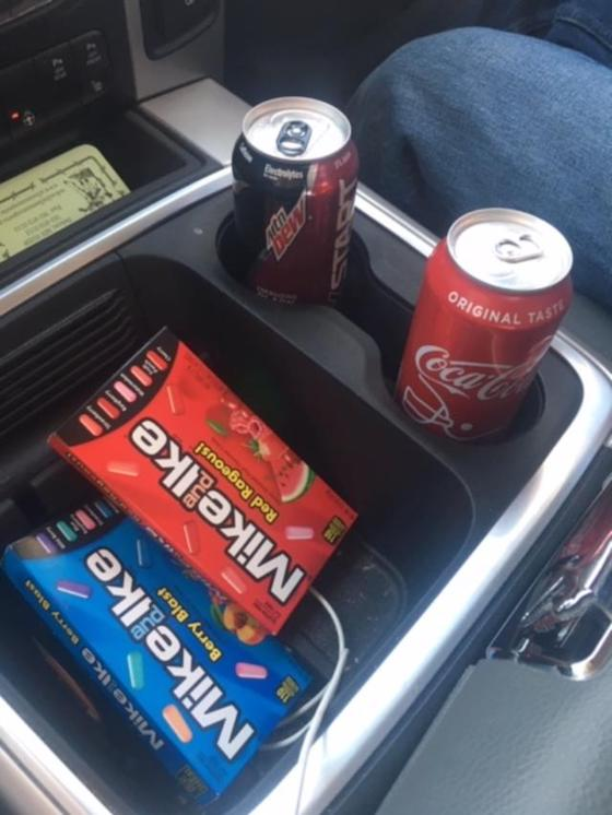 Remember to Mike n Ike your road trips!