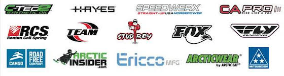 Official Team Arctic Sponsors