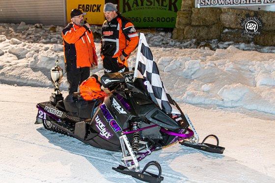 #21 Troy Dewald of Cadarette Racing