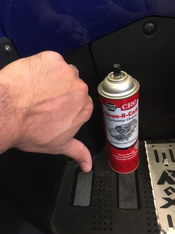 Never use brake or carb cleaners to remove graphics. Or other chemicals like diesel fuel, gas and paint thinner.