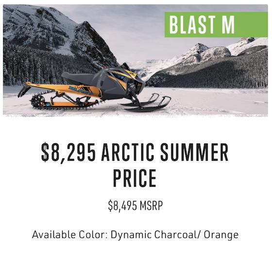 2021 Summer Sales PreOrder Blast M Offer