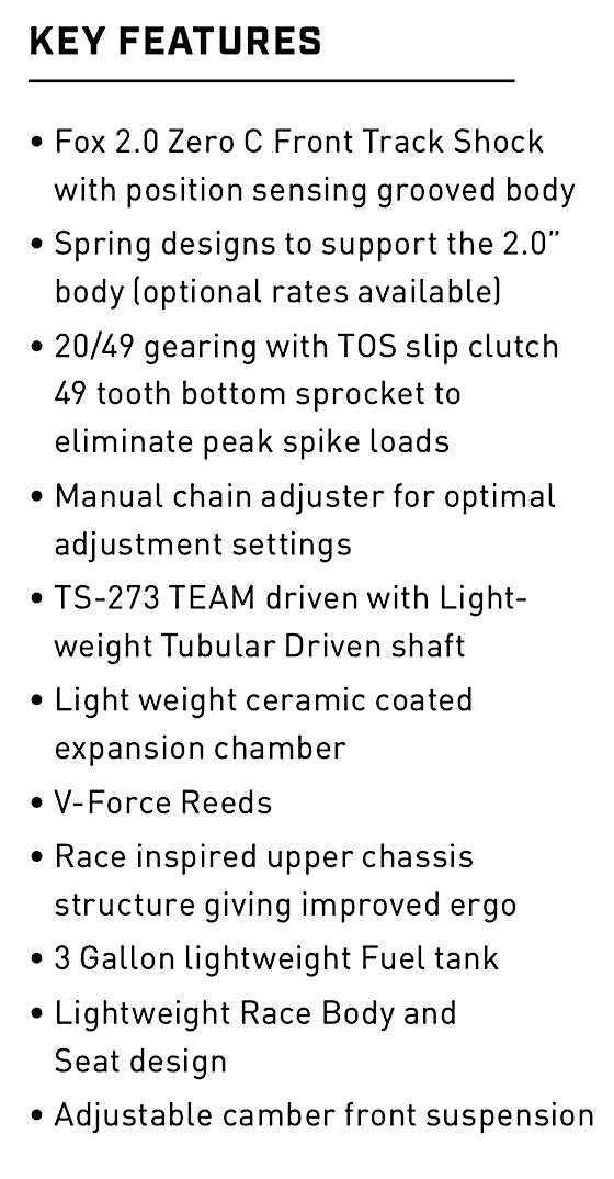 2021 R SX Key Features