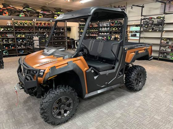 Here is the new 2021 Prowler Pro Ranch Edition on the Country Cat showroom floor.
