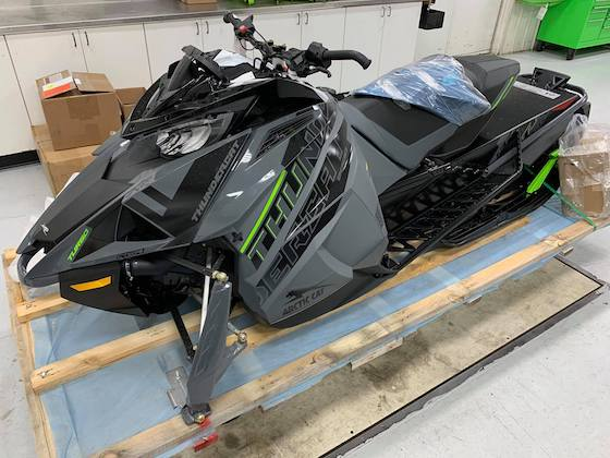 Country Cat just uncrated the 2021 Thundercat. Looks sexy.