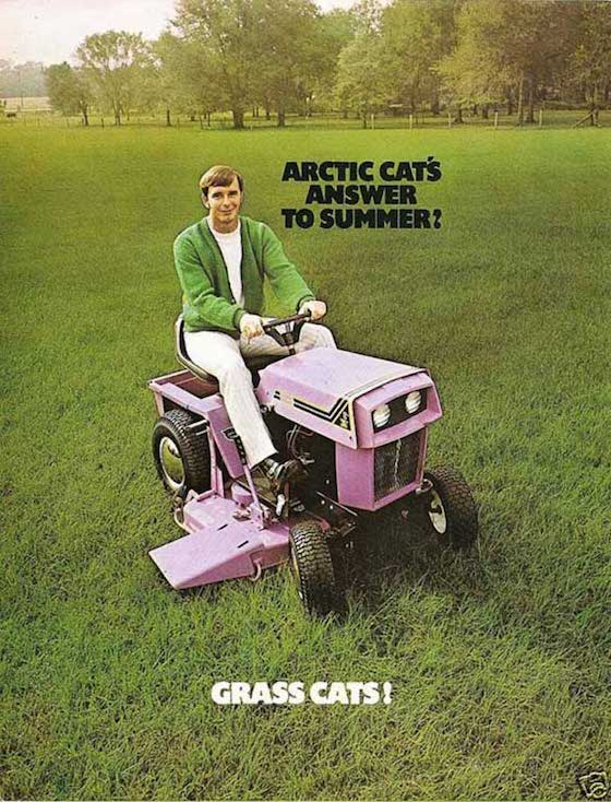 Arctic Cat tried to break in to the utility non-recreational market in 1971 with the GrassCat