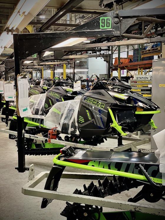 The 2021 M8000 R with Alpha rail. A new race sled specifically built for Team Arctic hillclimb racers.