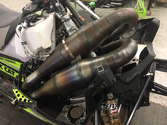 These twin pipes on Zach's SOO Mod - They're sexy. Or Sexual?  I think both.