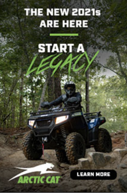 The COVID sales surge started with Offroad products and has continued with Snow