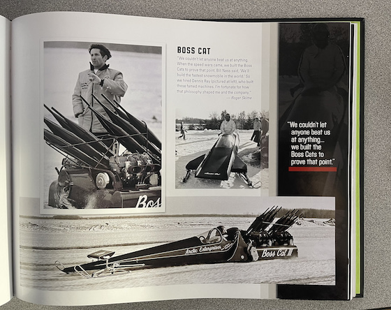 Boss Cat - Pages from the Arctic Cat 50th Anniv Book