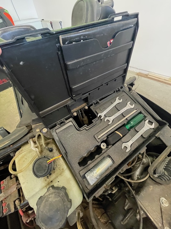Underhood Tool Storage...Never touched