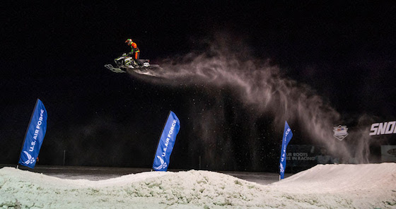 #43 Pro Logan Christian takes flight in Fargo