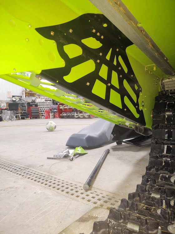 Inside Look at prototype tunnel braces for Blast tunnel