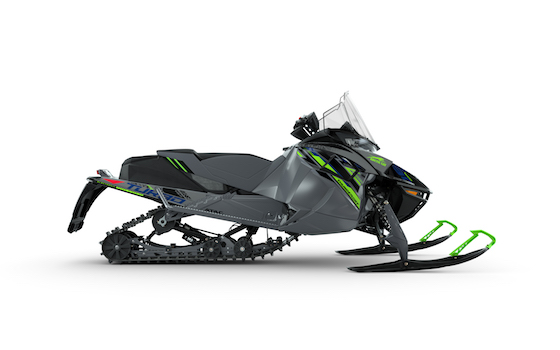 2022 Thundercat shown here with Trailblazer Accessory Kit: Pro Front Bumper, Handlebar Bag, 15-in. Mid-Performance Windshield and Large Rear Storage Trail Pack