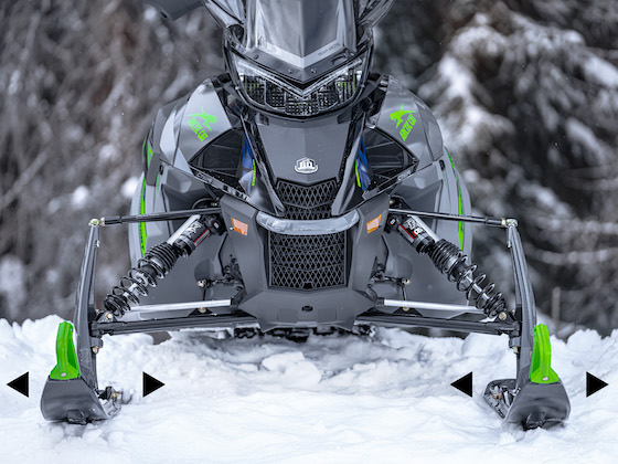 2022 Thundercat with ARSII front suspension