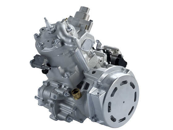 CTEC2 397cc single-cylinder with DSI and 65-class horsepower