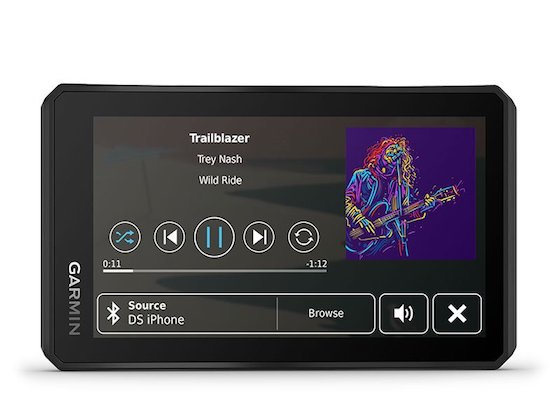 Sick of humming your own tunes? Tread has a built-in media player
