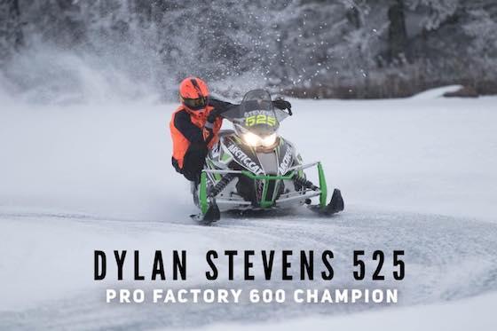 Rookie Pro Dylan Stevens Pro Factory 600 Champion