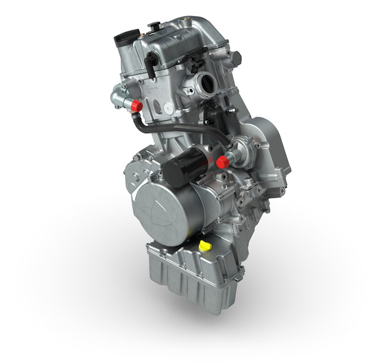 All-New 600cc engine built in Arctic Cat's St. Cloud, MN engine facility
