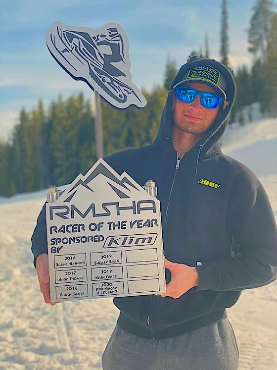 Riley Kincaid - RMSHA Racer of the Year
