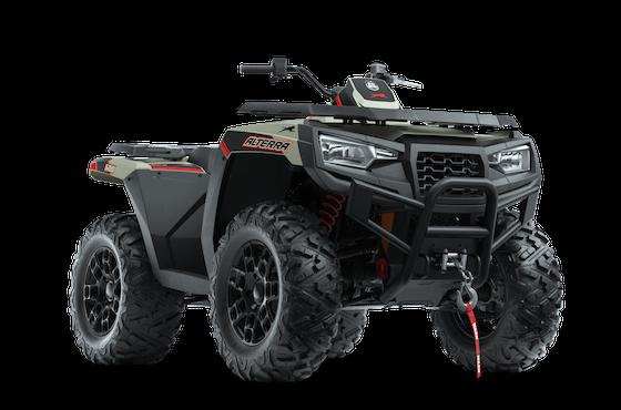 2022 All-New Alterra 600 LTD 4x4
