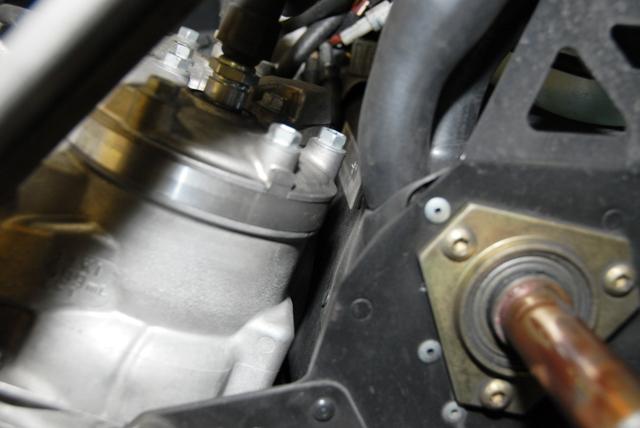600 Race Engine Cylinder Head Clearance