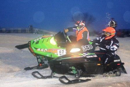 Late-model racing at ERX