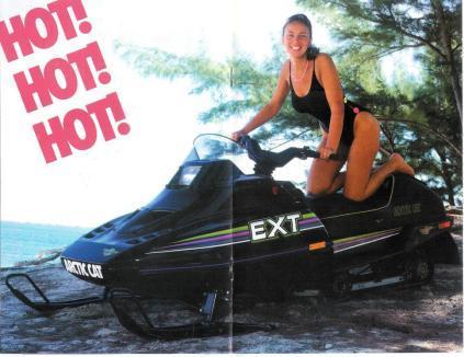 Hot Model... the 1990 Arctic Cat EXT Special