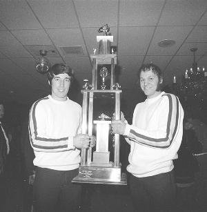 Brian Nelson and Hubert Fixsen, during the Deere years