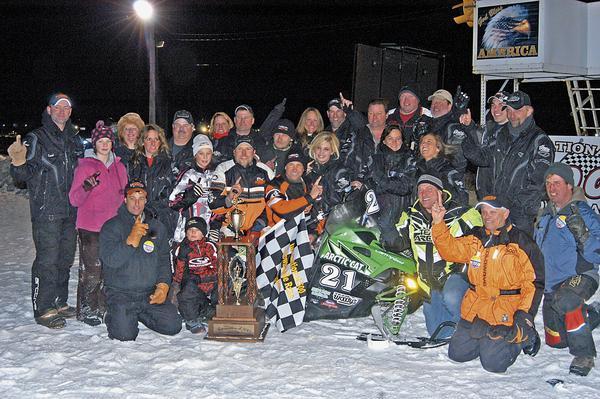 Cadarette Racing Celebrates Soo 500 Win for Arctic Cat