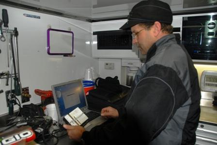 Arctic Cat EFI specialist Terry Anderson