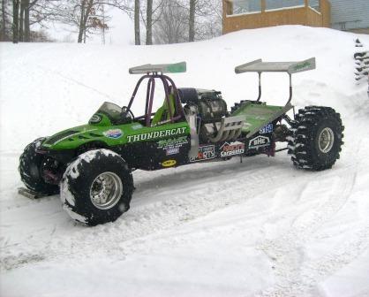 Prototype Arctic Cat Thundercat for 2012?