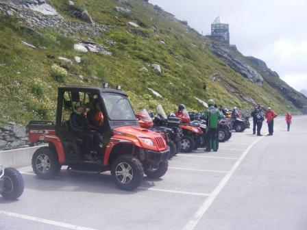 Arctic Cat Prowlers and ATVs in Austria