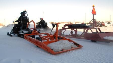 2012 prototype Arctic Cat Groomer Special