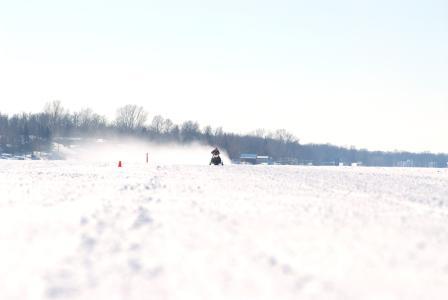 Testing on the lake
