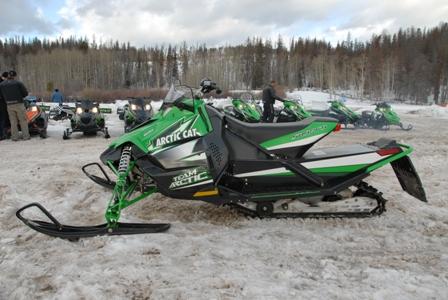 Arctic Cat Sno Pro 500 at Snow Shoot
