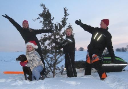 Merry Christmas from the Sandberg family, to the Arctic Cat family of riders