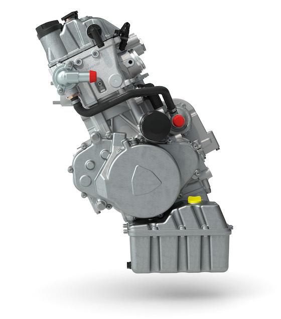The all-new 600 engine is a 45hp powerhouse