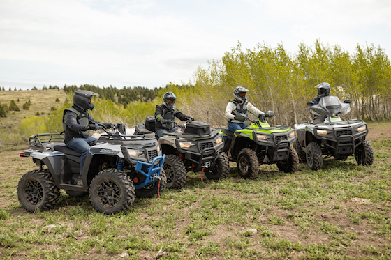 The all-new line of Alterra 600 ATVs were introduced in April 2021