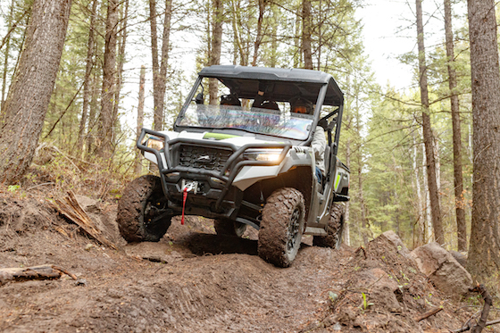 The Prowler Pro line is improved with better clutching, cooling, suspension and increased ground clearance