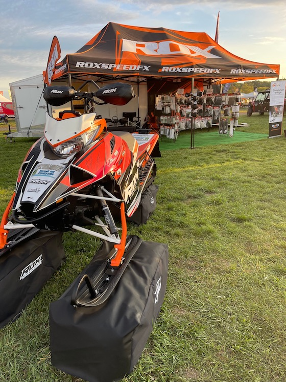 The fine folks at Rox had a really clean M sled showcasing their new Get 3 Handguards and fresh autograph from Brett Turcotte