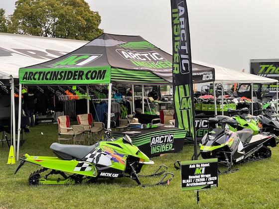Our new tent looked killer from TREAD Company in Ogilvie, MN. Look them up on the Facepage if you have promotional marketing needs. Their prices, quality and quick turnaround cant be beat